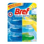 Bref Duo Aktiv Fresh mix - tekutý WC blok 50 ml, 3 x náplň