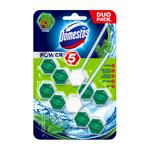 Domestos Power 5 Pine - tuhý WC blok 2x55 g
