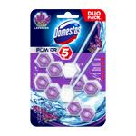 Domestos Power 5 Lavender - WC blok 2x55 g