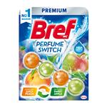 Bref Perfume Switch Juicy Peach & Sweet Apple - WC blok 50 g